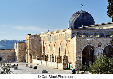 Al-Aqsa Mosque - Al Aqsa Mosque in Jerusalem, the 3rd...