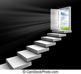 day light in room through door - day light in room through...