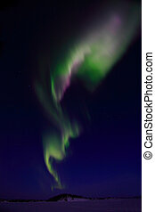 Aurora Borealis near Yellowknife NT