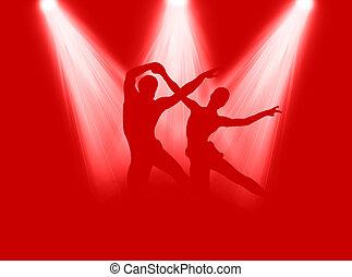 Dance in the spotlight
