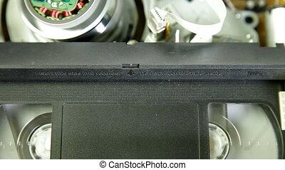 Cassette Videotape Recorder
