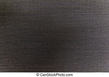 Black grille cloth woven pattern is cross-table