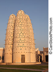 Pigeon towers in Katara cultural village, Doha Qatar
