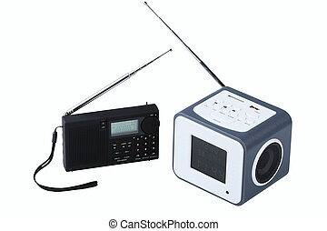 Portable radio receivers