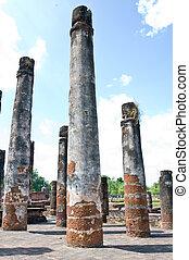 Stone pillar old