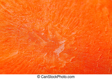 Carrot cut shows of pattern detail