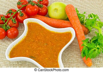 tomato sauce and carrots - delicious tomato sauce and...