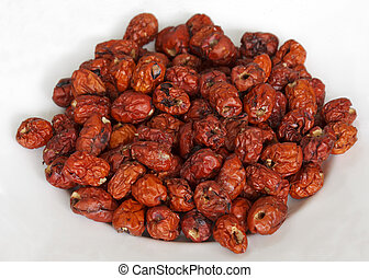 Dried red jujube fruits - Dried monkey apple fruit or...