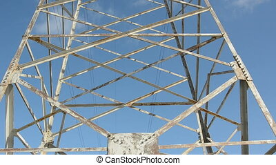 utility pole and camera rotation - metal utility pole and...