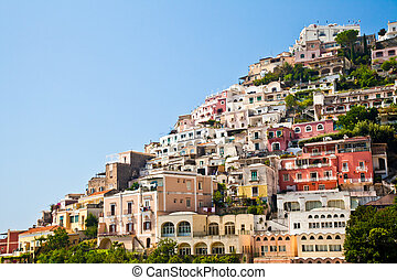 Positano view - Positano is a village and comune on the...