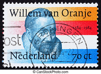 Postage stamp Netherlands 1984 William of Orange -...