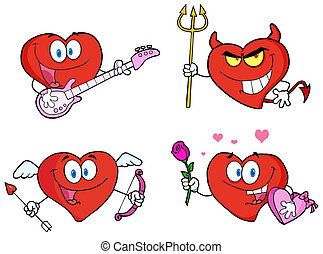 Heart Cartoon Style