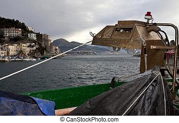 Fishing-lamp (Lampara) in Cetara,Amalfi coast