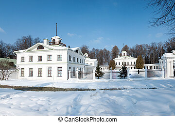 Manor of the great Russian poet of the 18th century -...