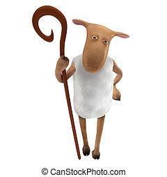 Sheepy, -, pastor