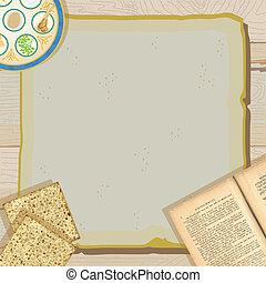 Passover Seder meal invitation - Celebrate Passover with...