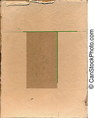 old photographic paper pack background