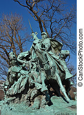 Civil War Statue in Washington DC