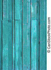 Texture of Green color paint plank vertical