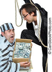 The repayment - A series of pictures about swindlers and...