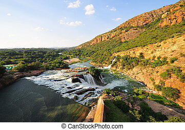Hartbeespoort Dam also known as Harties. The Hartbeespoort...