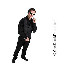 secret service - The secret agent, secret service