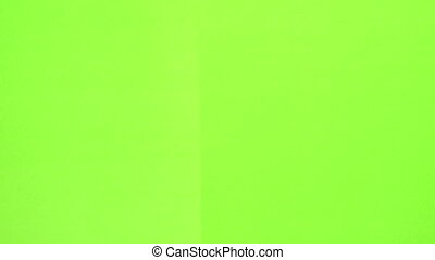 Clapper Board green screen - Slating a take with clapper...