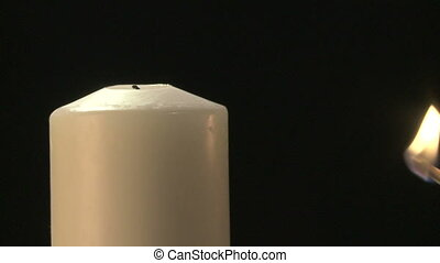 Lighting a candle 02