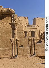The Temple of Edfu (Egypt)
