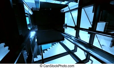 Elevator / Lift - Elevator Shaft