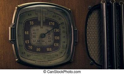 1930's vintage radio