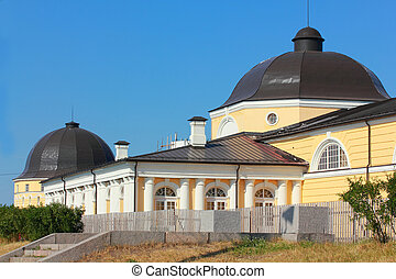 Building in Arkhangelsk is Gostiny - Oldest building in...