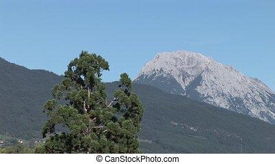 Mountains and Village, Austria