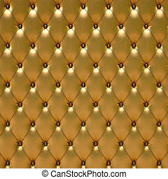 leather - luxurious golden leather