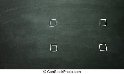 4 multiple choice selection empty - 4 multiple choice box is...