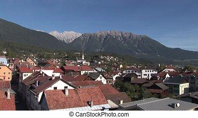 City In Alps, Austria