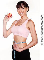 Healthy Weightloss Concept