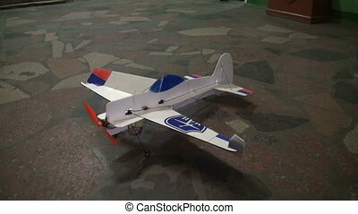 Radio-controlled model aircraft