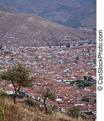 Cusco - View at Cusco, Peru