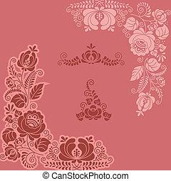 floral gzel