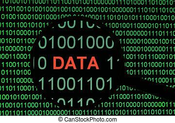 binärer, Daten