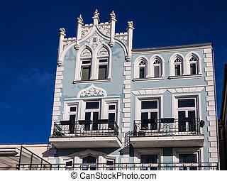 Historical Building in Warnemuende (Germany).