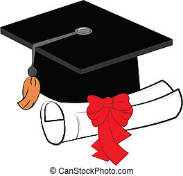 grad elements  - graduation elements over white vector