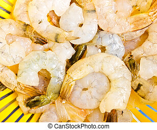 Group of shrimps