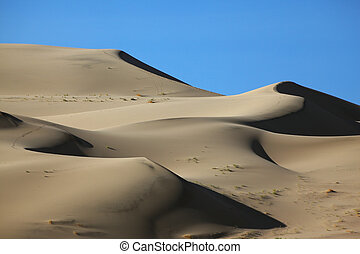 "The sand ""waves"" Eureka Dunes - Erotic reminiscences in the..."