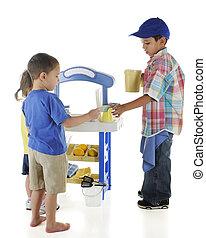 Vending Preschooler