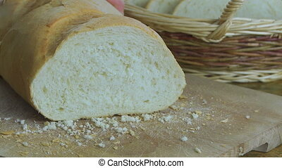 Slicing White Bread