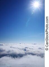 Sea of clouds and sun - Sea of clouds and sun, Nagano Japan...