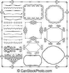 Vintage Design Elements - Vector Vintage Design Elements on...