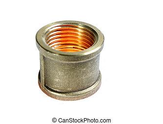 Galvanized Steel Coupling - Illuminated galvanized steel...